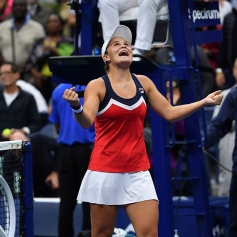 Ashleigh Barty Doubles Title 2018 US Open